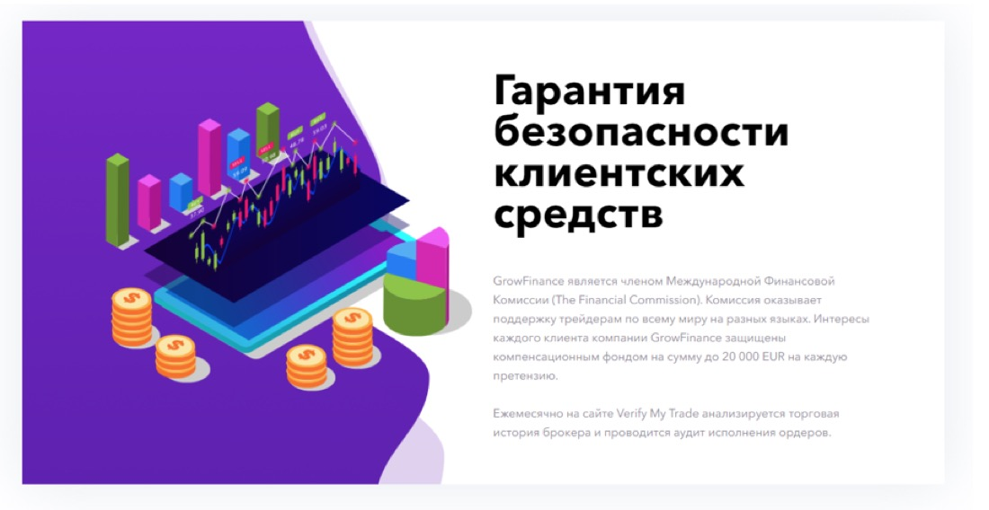 Брокер grow finance