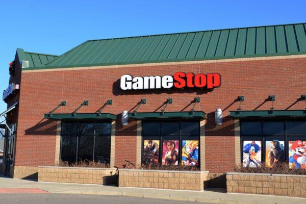 Акции GameStop corp