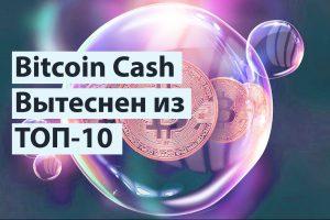 Bitcoin Cach вытеснен DOGE