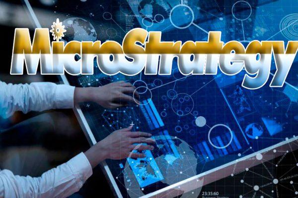 MicroStrategy лого