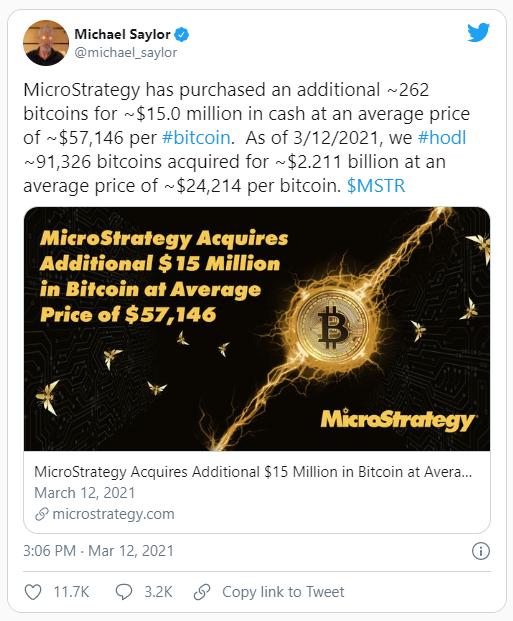 MicroStrategy игнорирует критиков и покупает BTC