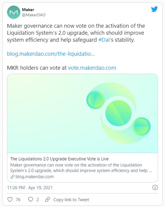 MakerDAO: модернизация ликвидационной системы