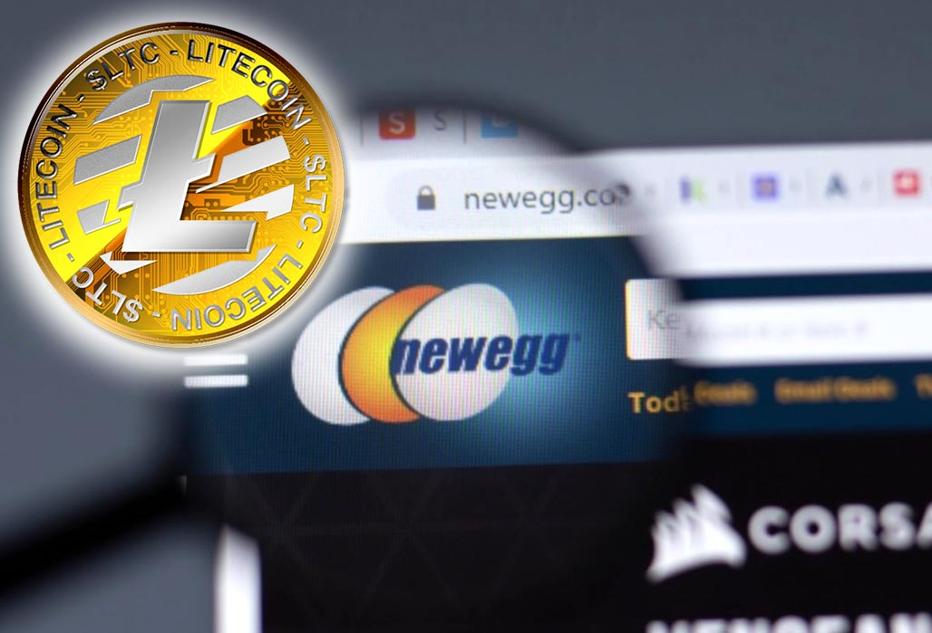Американский ретейлер Newegg принимает Litecoin