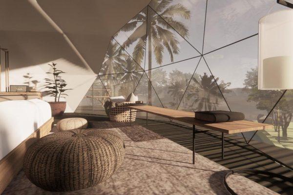 Бутик-курорт в Индонезии